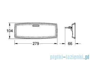 Grohe Grandera półka Easy Reach ceramiczna 18651000