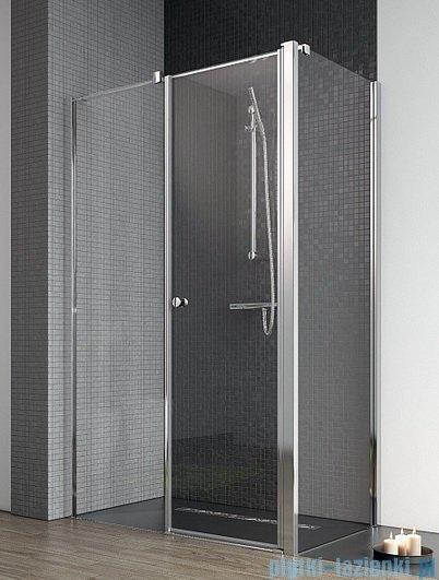 Radaway Eos II KDS kabina prysznicowa 90x90 lewa szkło przejrzyste + brodzik Delos C + syfon 3799481-01L/3799411-01R/SDC0909-01