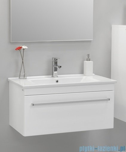 Antado Variete ceramic szafka z umywalką ceramiczną 82x43x40 biały połysk FM-AT-442/85+UCS-AT-85