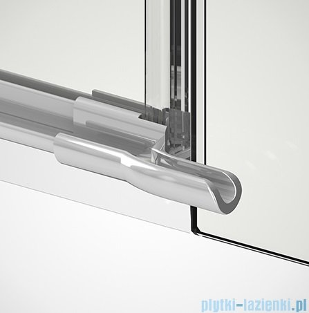 New Trendy Reflexa Plus 110x200 cm drzwi wnękowe prawa przejrzyste EXK-1285/EXK-0001