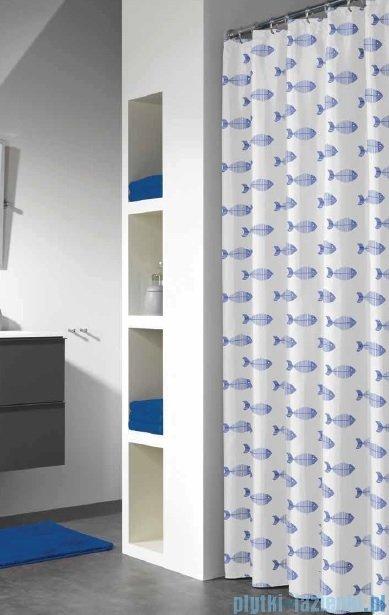 Sealskin Nemo blue zasłona prysznicowa vinylowa 180x200cm 210851324