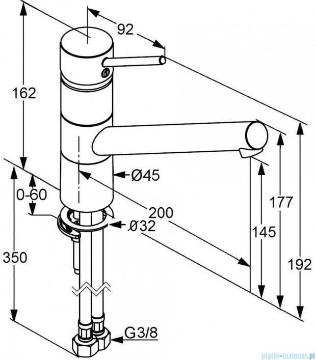 Kludi Scope Xl Jednouchwytowa bateria kuchenna DN 10 stal szlachetna 339309675
