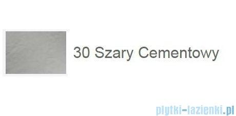 Roca Terran 90x90cm brodzik półokrągły konglomeratowy szary cementowy AP10538438401300