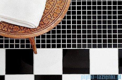 Dunin Black & White mozaika kamienna 30x30 pure B&W diagonal 15
