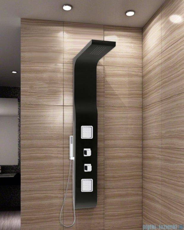 Rea panel natryskowy z mieszaczem czarny 9502Czarny