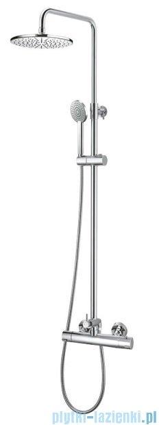 Art Platino Term zestaw kabinowo-prysznicowy termostatyczny chrom TER-ZKPN.400C