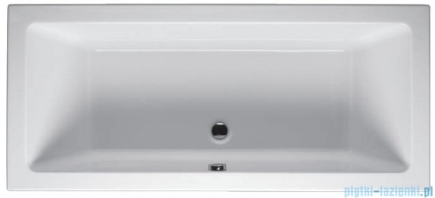Riho Lusso Wanna prostokątna 180x80 z hydromasażem PRO Hydro 6+4+2/Aero11 BA98P7