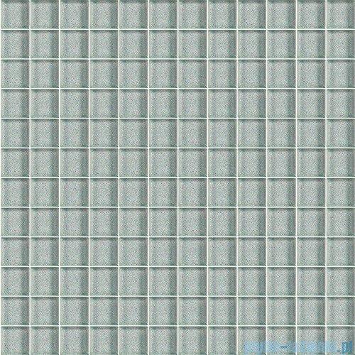 Paradyż mozaika szklana silver brokat 29,8x29,8