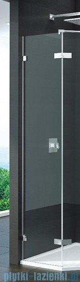 SanSwiss Pur PUT52 Ścianka boczna do kabiny 5-kątnej 30-100cm profil chrom szkło Master Carre PUT52SM11030
