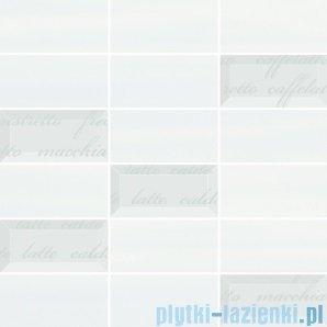 Paradyż Chiara bianco/azul mozaika cięta mix 29,8x29,8