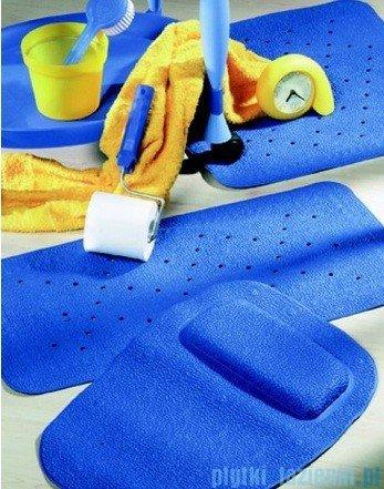 Sealskin Mata antypoślizgowa Unilux do brodzika 55x55cm jasno niebieska 315001220