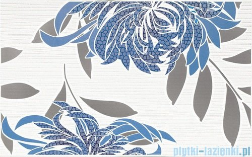 Paradyż Acapulco blue A inserto ścienne 25x40