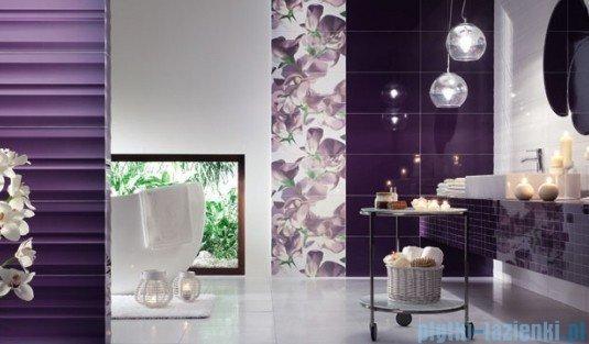 Mozaika ścienna prostokątna Tubądzin Colour Violet 32,7x29,5