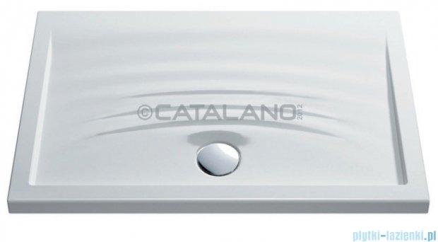 Catalano Impronta 120 brodzik ceramiczny 120x80 cm biały 180120IM00