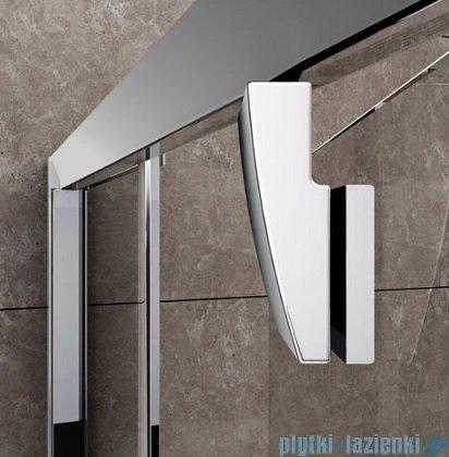 Ravak Drzwi prysznicowe obrotowe Pivot PDOP2-110 białe + chrom transparent 03GD0100Z1