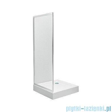 Koło First Ścianka boczna 80cm szkło satyna profil srebrny połysk ZSKX80214003