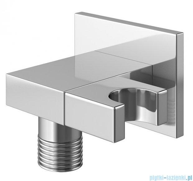 Kohlman Saxo zestaw prysznicowy chrom QW210SQ25