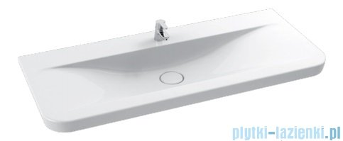 Cerastyle Modus umywalka 125,5x55cm meblowa / ścienna 082500-u