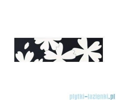 Listwa ścienna Tubądzin Colour Flower White 1 59,3x16,25
