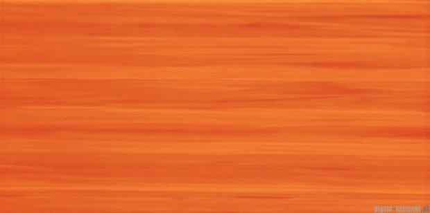 Tubądzin Wave orange płytka ścienna 22,3x44,8