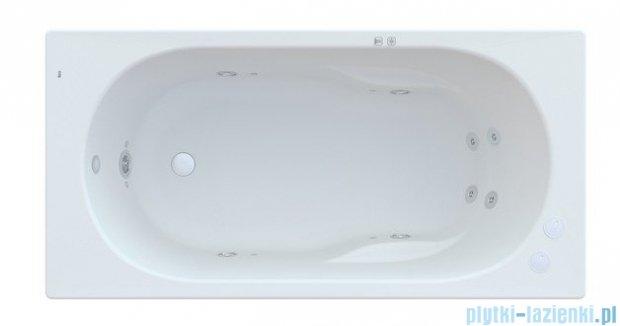 Roca Genova N wanna 140x70cm z hydromasażem Smart Water Plus A24T347000