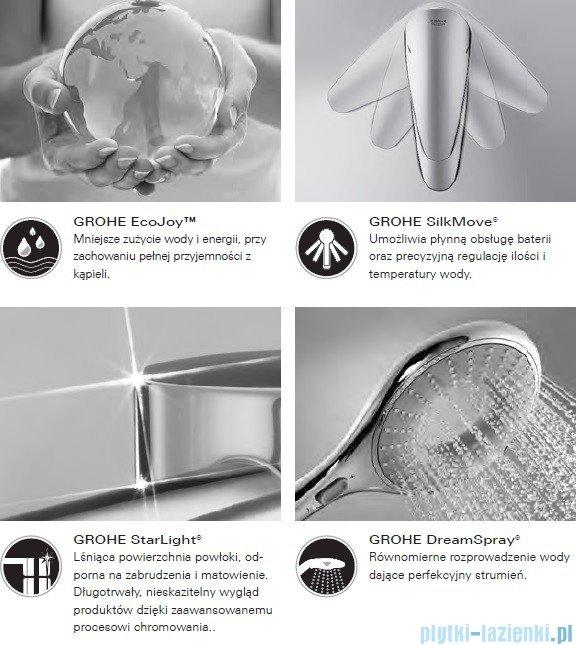 Grohe Grandera™ Stick zestaw prysznicowy z drążkiem chrom/złoty 26038IG0