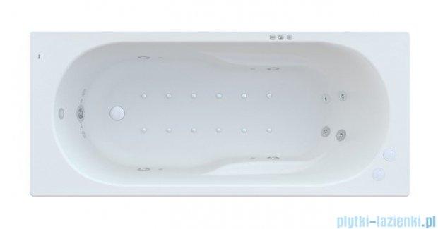 Roca Genova N wanna 160x70cm z hydromasażem Smart WaterAir Plus Opcja A24T360000