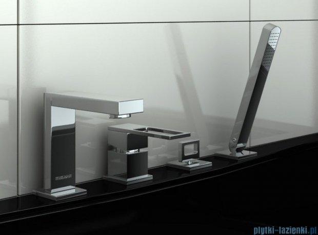 Kohlman Nexen 4-otworowa bateria wannowa z mieszaczem QB243U