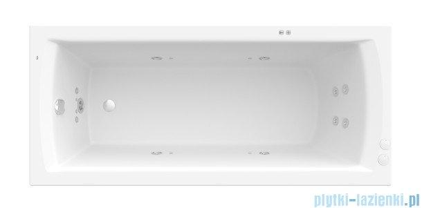 Roca Linea wanna 180x80cm z hydromasażem Smart Water Plus A24T061000