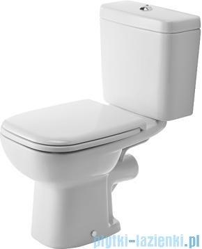 Duravit D-Code miska toaletowa stojąca lejowa odpływ poziomy 355x650 mm 211109 00 002