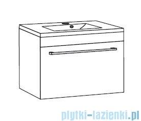 Antado Spektra ceramic szafka podumywalkowa 82x43x40 fino grafit FDF-AT-442/85GT-46