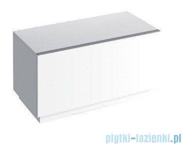 Keramag Icon Szafka stojąca boczna pozioma 89cm biały połysk 840090