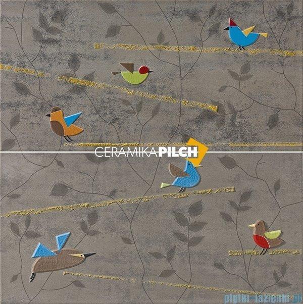 Pilch Land 5 dekor ścienny 2-elementowy 60x60