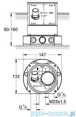 Grohe Ondus element podłogowy 45984000