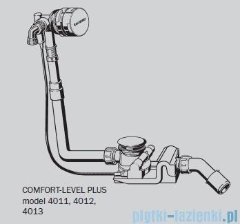 Kaldewei Comfort-Level Plus Standard model 4011 Zestaw przelewowo – odpływowy z napełnianiem 687770610000