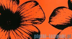 Dekor ścienny Tubądzin Colour Floral Orange 32,7x59,3