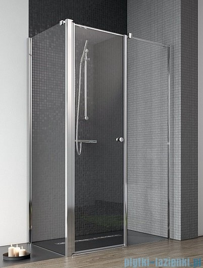 Radaway Eos II KDS kabina prysznicowa 100x80 prawa szkło przejrzyste + brodzik Argos D + syfon 3799482-01R/3799410-01L/4AD810-01