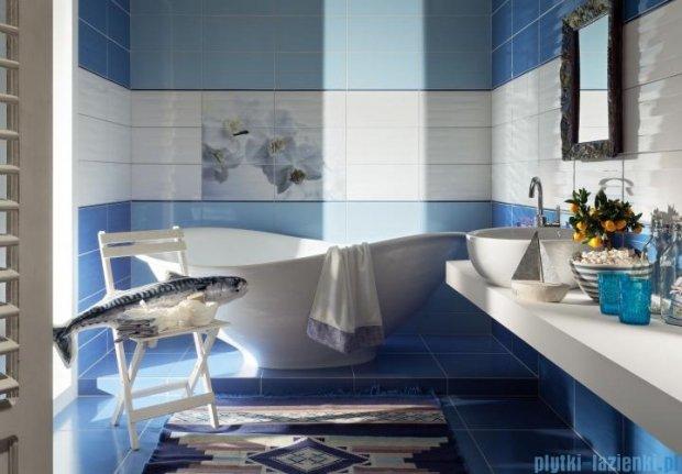 Tubądzin Maxima blue 1 listwa ścienna 10x44,8