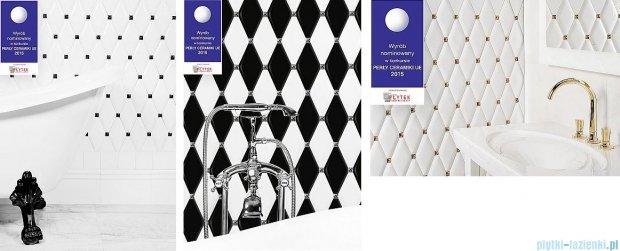 Dunin Carat black płytka mozaikowa ścienna 10x20