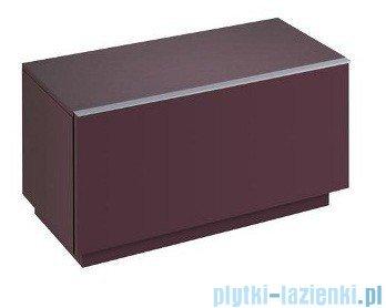 Keramag Icon Szafka stojąca boczna pozioma Icon 89cm burgund połysk 840091