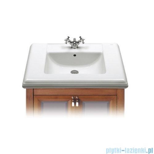 Roca America Umywalka ścienna 75x52,5cm z blatem ceramicznym powłoka Maxi Clean A32749000M