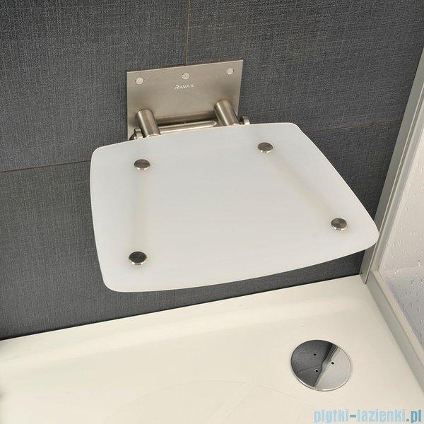 Ravak Siedzisko Ovo B Opal do kabin prysznicowych B8F0000016