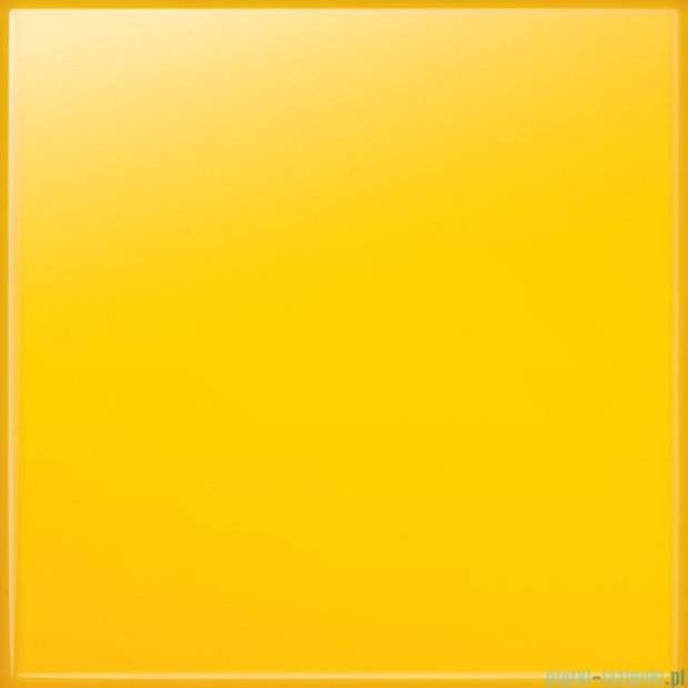Tubądzin Pastel żółty połysk płytka ścienna 20x20