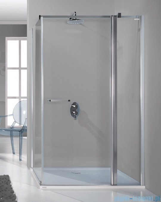Sanplast kabina narożna prostokątna KNDJ2/PRIII-75x100 75x100x198 cm przejrzyste 600-073-0230-38-401