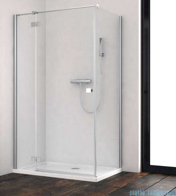 Radaway Essenza New Kdj kabina 90x110cm lewa szkło przejrzyste 385044-01-01L/384053-01-01