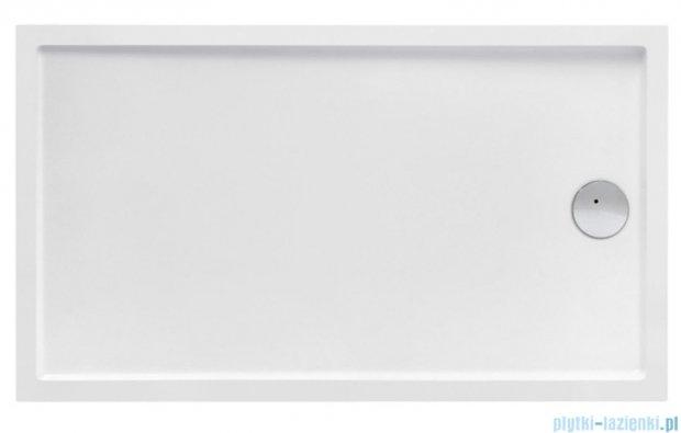 Roca Granada Brodzik Prostokątny 140x80x4cm Biały Akryl A276263000