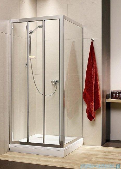 Radaway Treviso DW+S kabina 120x80 szkło przejrzyste 32333-01-01N/32413-01-01N