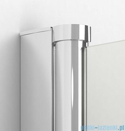 New Trendy New Soleo Plus drzwi wnękowe bifold 140x195 cm przejrzyste lewe D-0150A/D-0096B