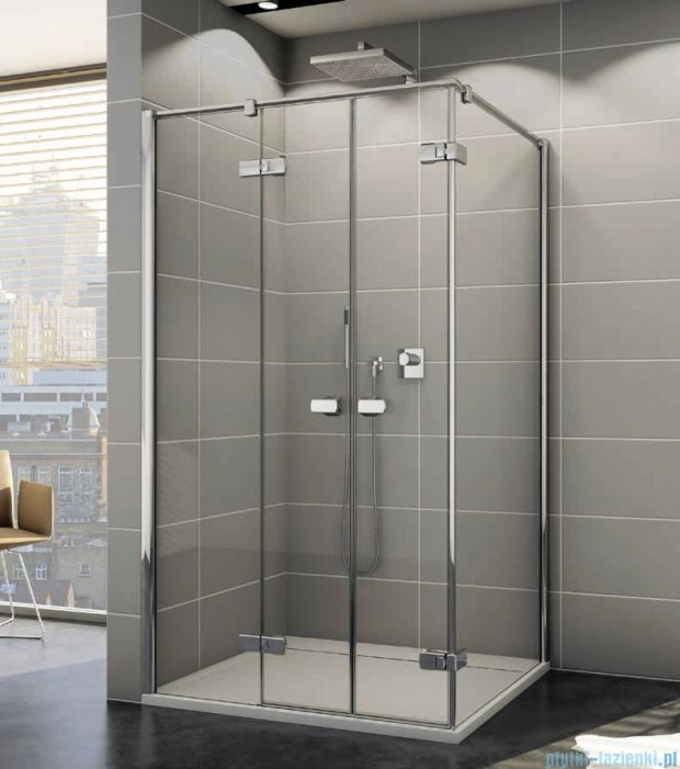 Sanswiss Melia ME32 Kabina prysznicowa lewa 90x100cm przejrzyste ME32PG0901007/MET2PD1001007