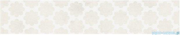 Kwadro Stacatto bianco listwa 4,8x25